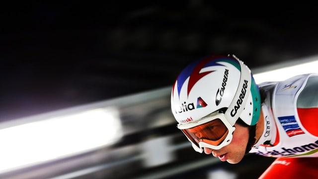Simon Ammann will sich mit der Schanze in Predazzo versöhnen.