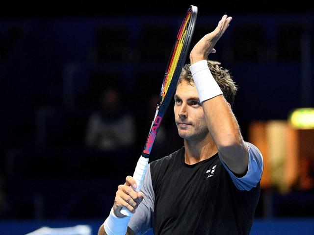 Henri Laaksonen steht in Melbourne in der 2. Qualifikationsrunde.