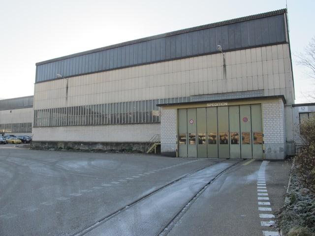 Swissmetal-Fabrikhalle