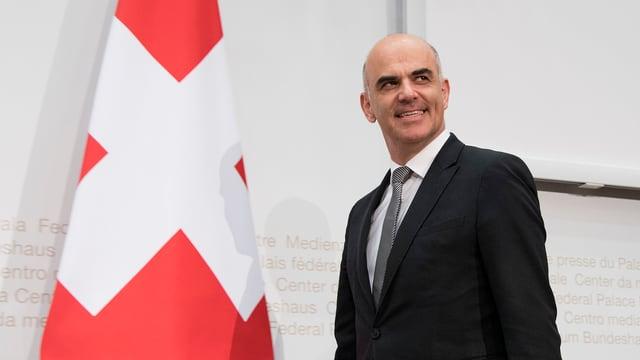 Il minister da sanadad Alain Berset.