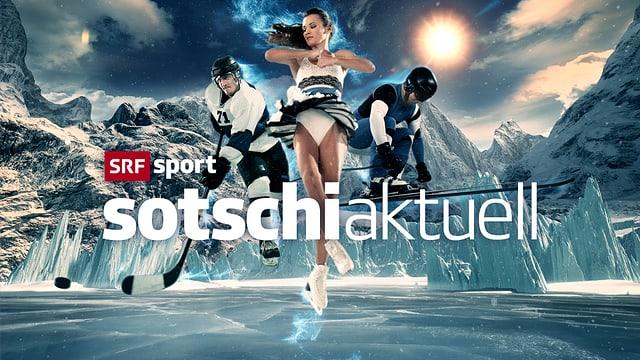 Ski, Curling, Eishockey, Rodeln und Snowboard