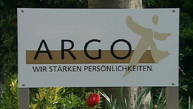 Il logo da l'ARGO a Cuira.