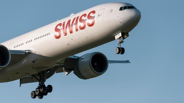 Swiss streicht Flüge