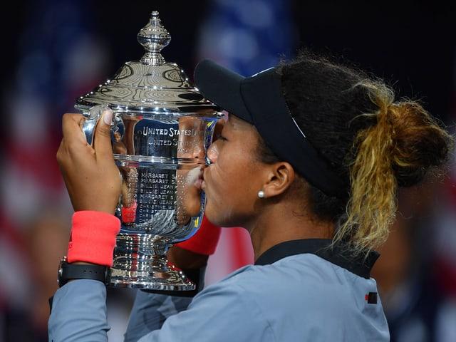 Naomi Osaka ist die erste Grand-Slam-Siegerin aus Japan.