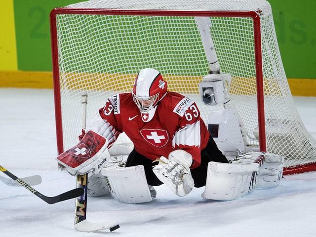 Leonardo Genoni hielt gegen Finnland und Kanada überragend.