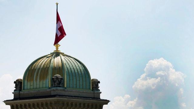 Kuppel des Bundeshauses.