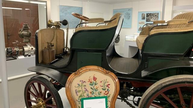 Ein Oldtimer der Firma Saurer ist Bestandteil der Sammlung des historischen Museums im Schloss Arbon.