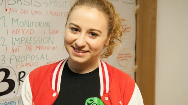 Loretta Wagner (Budapest) appartegn a la minoritad tudestga ell'Ungaria.