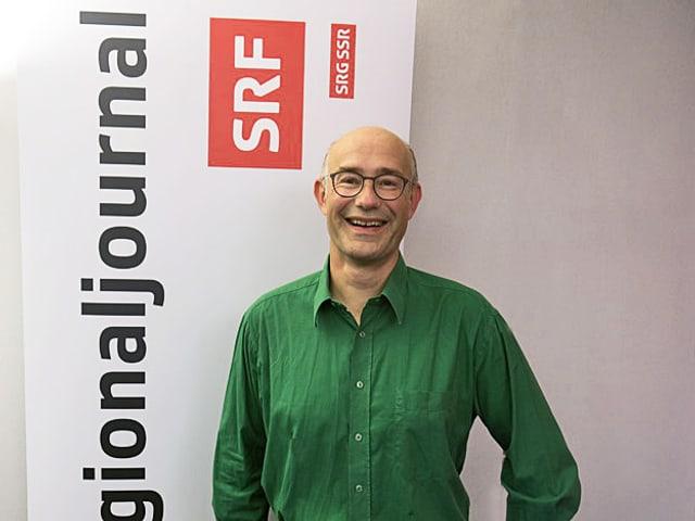 Harald Friedl vom Grünes Bündnis im «Wahlzmorge»