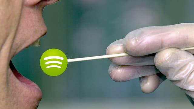 Spotify sucht die Mucke deiner Spucke.