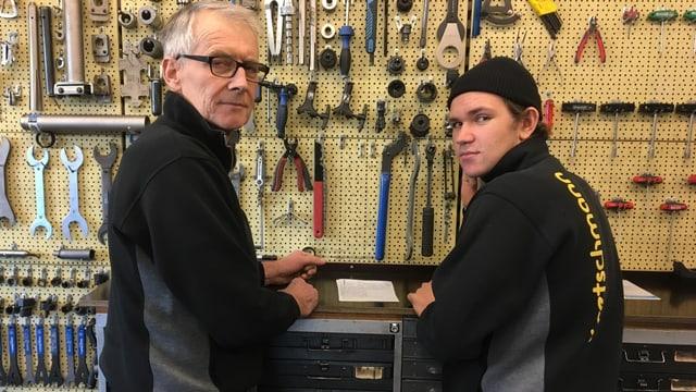 Kretschmann und sein Lehrling Lars
