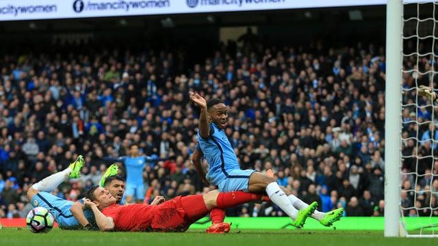 Ein Kampf auf Biegen und Brechen zwischen Liverpool und Manchester City.