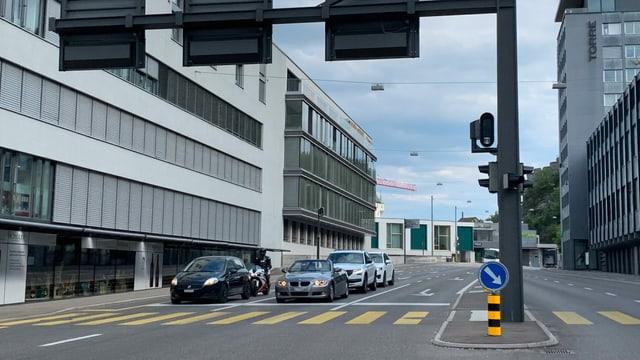 Radarkasten an Kreuzung