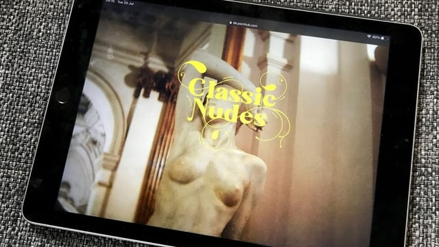 Kunst der Provokation: Pornhub machts mit alten Meistern