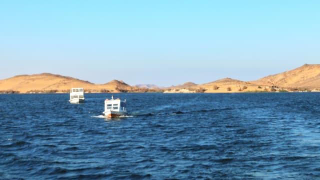 Video «Stille Wasser sind tief - Der Nassersee» abspielen