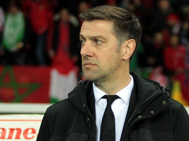 Serbien-Trainer Mladen Krstajic.