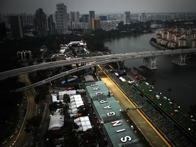 Der Circuit in Singapur.