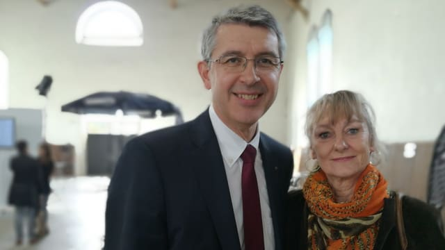 Maushart mit Frau