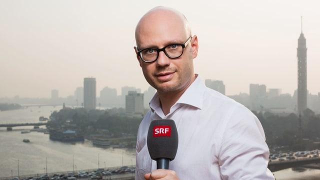 Für SRF im Ausland unterwegs: Korrespondent Pascal Weber in Kairo.