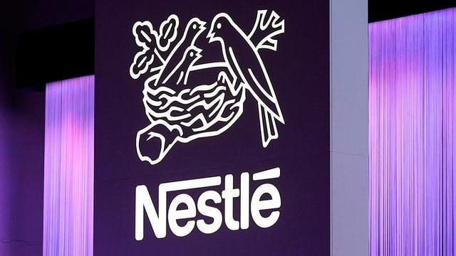 Logo von Nestlé
