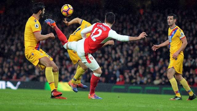 Olivier Giroud trifft gegen Crystal Palace