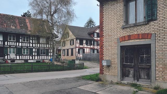 Riegel- und Bachsteinbauten in Zihlschlacht.