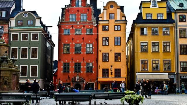 In Stockholm findet man das ganze Jahr Herbstfarben <3