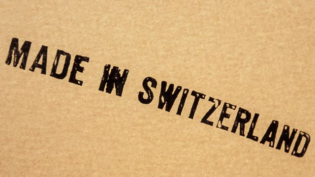inscripziun: Made in Switzerland