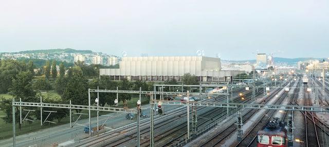 Das neue Stadion der ZSC Lions
