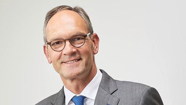 Porträtbild von Markus Thumiger, neuer Präsident des Stiftungsrates des KKL.