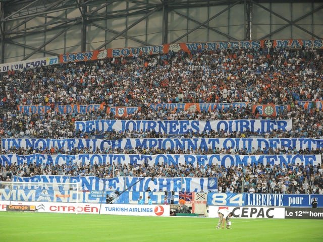 Fankurve Marseille