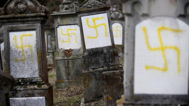 Sehr wenige tätliche Angriffe auf Juden