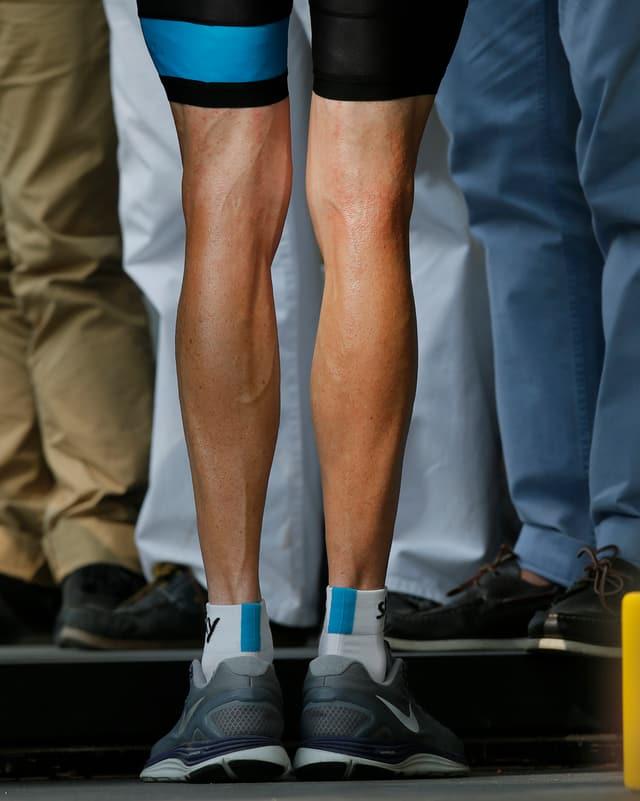 Die Beine von Chris Froome