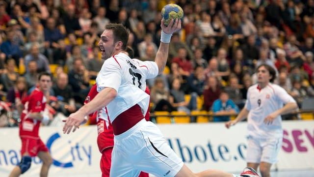 Marcel Hess und seine Teamkollegen musste sich Österreich knapp geschlagen geben.