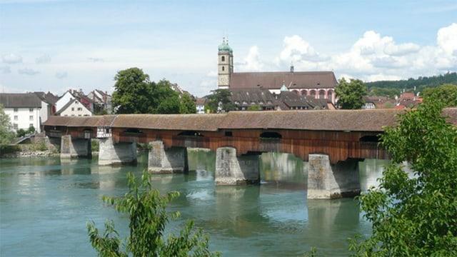 Brücke zwischen Bad Säckingen (D) und Stein