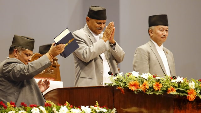 Il president dal Nepal Ram Baran Yadav.