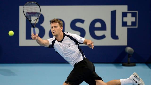 Neben Roger Federer tritt ein zweiter Basler zu den Swiss Indoors an.