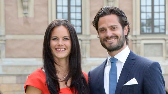 Prinz Carl Philip und Sofia Hellqvist.