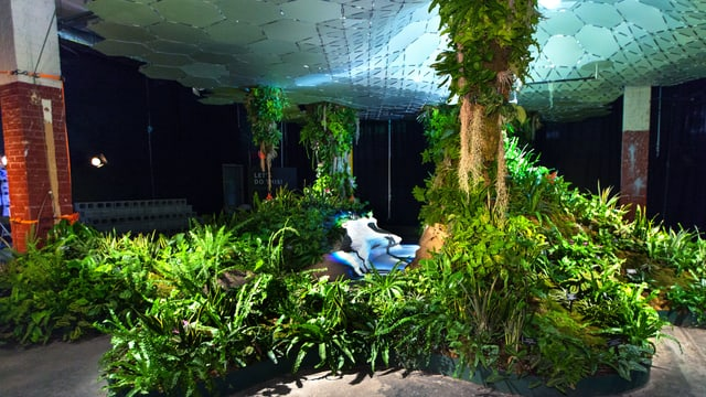 Unterirdischer Garten