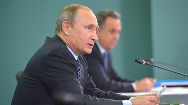 Wladimir Putin, president da la Russia.
