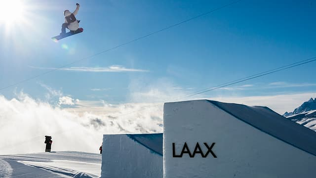 In kicker a Laax.