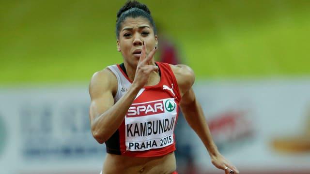 Mujinga Kambundji curra ils 60 meters.