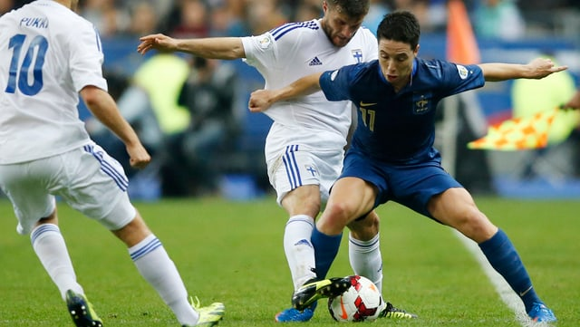 Samir Nasri spielt für das Nationalteam.