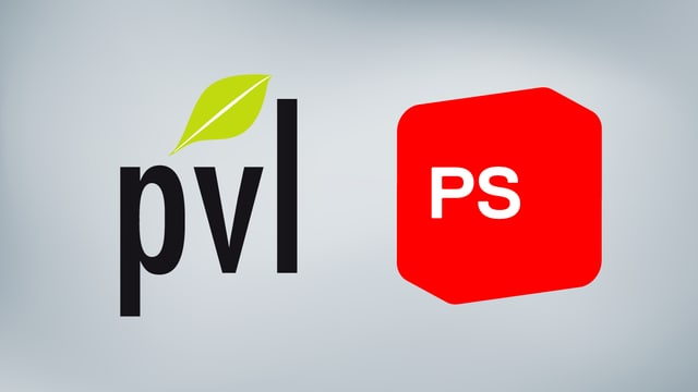 ils dus logos da las partidas PVL e PS
