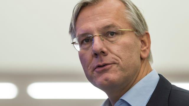 Aufnahme von Roche-Verwaltungsratspräsident Christoph Franz.