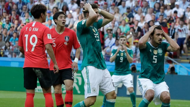 Germania perda 0:2 cunter la Corea dal Sid.