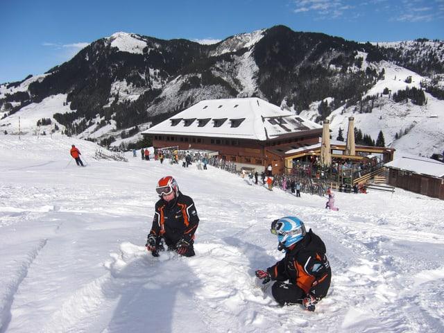 Skihütte und Alphotel Schwand in Sörenberg