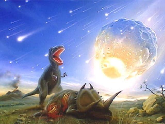 In meteorit pudess esser la culpa ch'i na dat pli dinosaurs