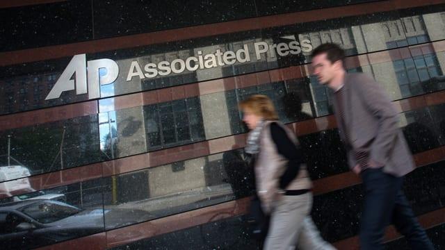 Ein Büro der Nachrichtenagentur AP in New York.