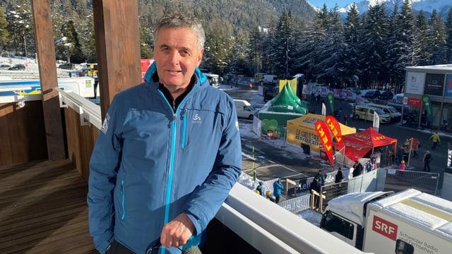 Hannes Parpan, il president dal comité d'organisaziun dal Tour de Ski.